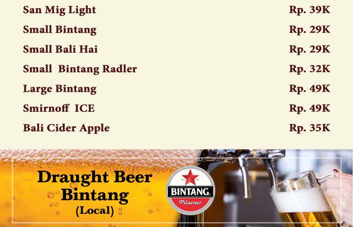 11) beer
