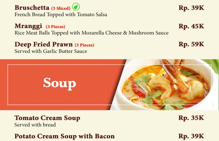 13) appetizer & soup