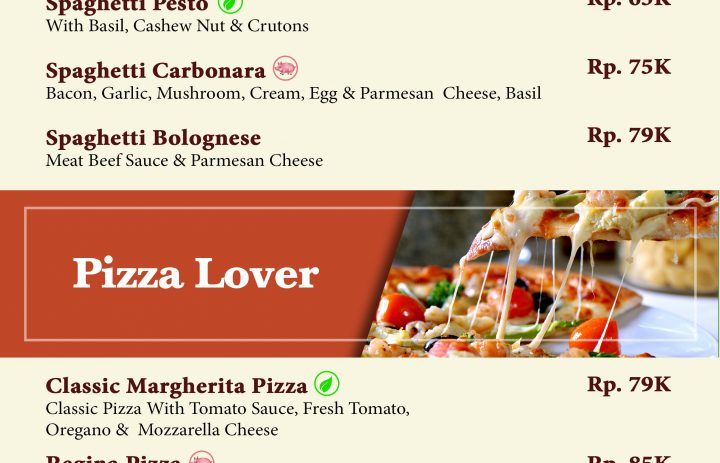 16) pasta & pizza