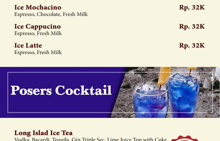4) ice coffee & on fire
