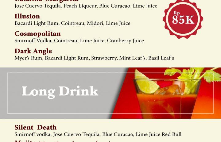 6) cocktail & longdrink
