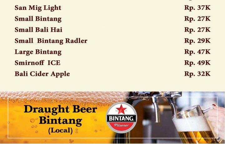 12) beer