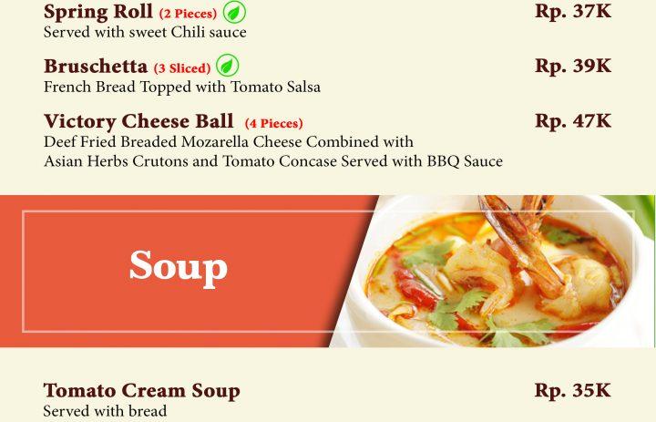 14) appetizer & soup