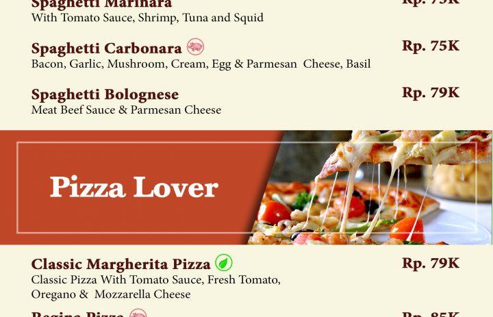 17) pasta & pizza