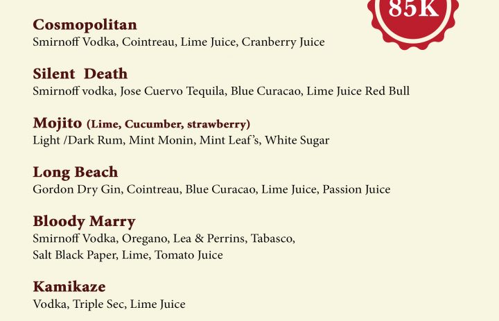 5) cocktail